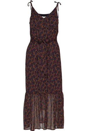 Gestuz Kvinna Mönstrade klänningar - Alminagz Long Dress Ma19 Knälång Klänning Multi/mönstrad