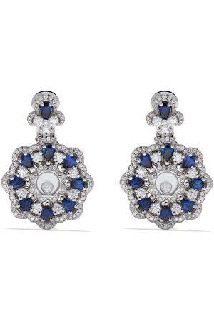 Chopard Happy Diamonds örhängen i 18K vitguld
