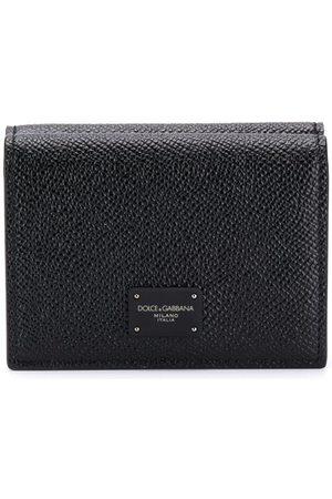 Dolce & Gabbana Dubbelvikt plånbok med logotyp