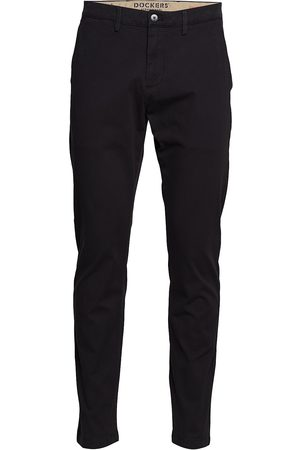 Dockers Smart 360 Chino Black Chinos Byxor Svart
