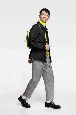 Zara Rutig joggingbyxa