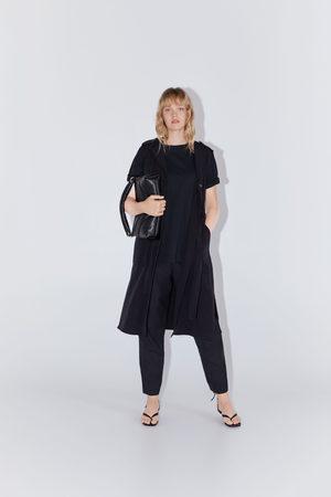 Zara Klänning med väst och knappar