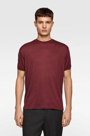 Zara Vid och ribbstickad tröja