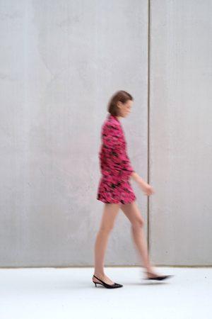 Zara Blommönstrad västklänning