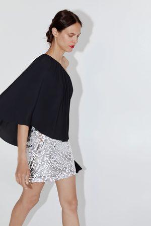 Zara Minikjol med paljetter