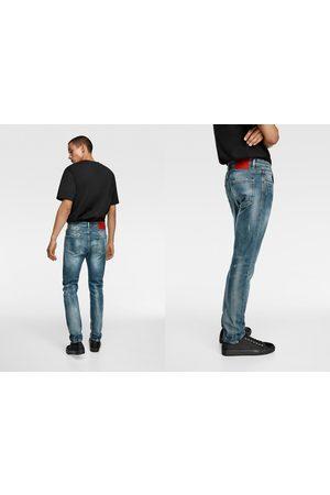 Zara Skinny-jeans med stickhål