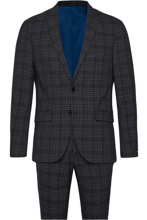 Lindbergh Checked Suit Kostym
