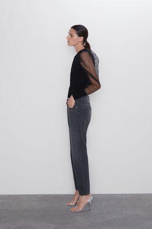 Zara Kvinna Mom - Jeans z1975 mom fit