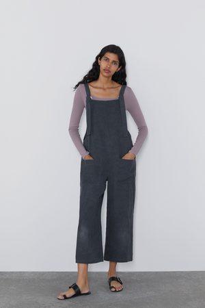 Zara Lång jumpsuit med fickor