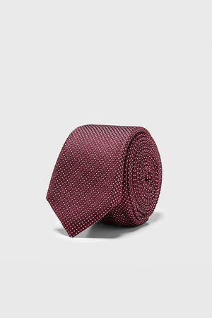 Zara Smal jacquardslips med geometriskt mönster
