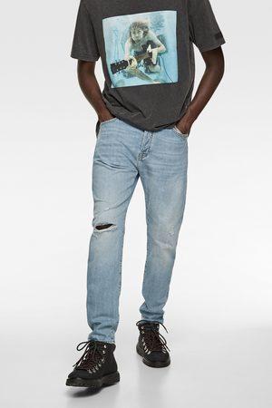 Zara Slim-jeans med revor