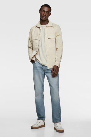 Zara T-shirt med ficka