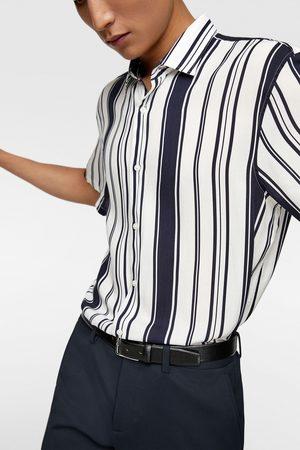Zara Kvinna Skjortor - Skjorta med randigt mönster
