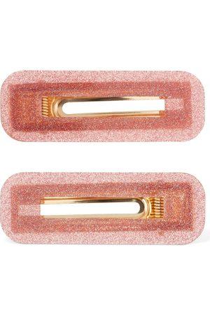 VALET STUDIO Set Of 2 Greta Glittered Hair Clips