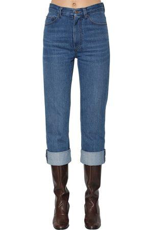 Marc Jacobs Straight Leg Cotton Denim Jeans