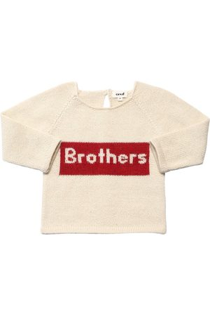 OEUF Brothers Baby Alpaca Knit Sweater