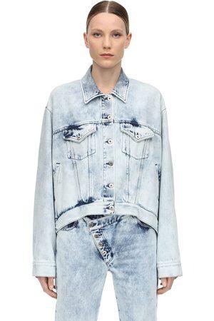 MARQUES'ALMEIDA Kvinna Jeansjackor - Oversize Cotton Denim Jacket