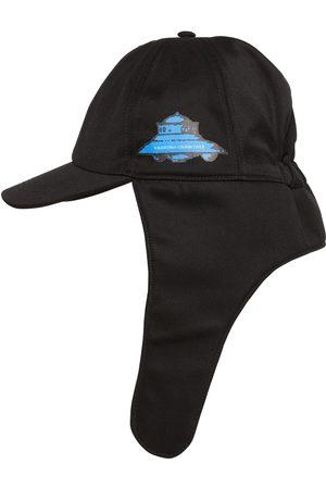 VALENTINO GARAVANI Man Hattar - Vu Ufo Printed Nylon Aviator Hat