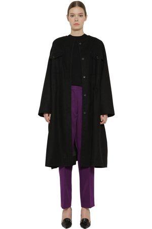 Rochas Virgin Wool Blend Coat