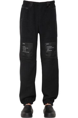 TAKAHIROMIYASHITATHESOLOIST Techno Sweatpants W/ Patches