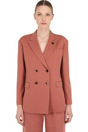 LARDINI Oversized Cotton Blend Jacket