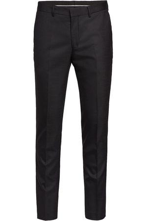 Selected Man Dressade byxor - Slhslim-Mylostate Flex Black Trs B Noos Kostymbyxor Formella Byxor