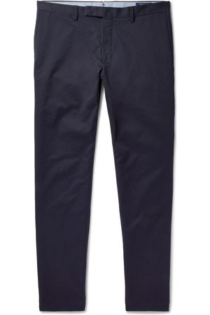 Polo Ralph Lauren Man Chinos - Slim-fit Stretch-cotton Twill Chinos