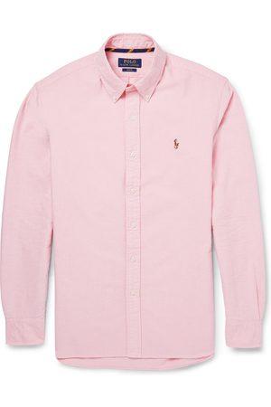 Polo Ralph Lauren Man Casual - Slim-fit Button-down Collar Cotton Oxford Shirt