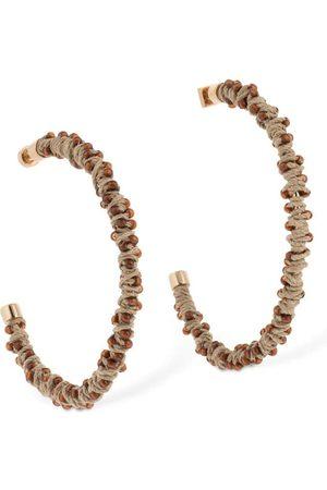 Jacquemus Les Creoles Large Hoop Earrings