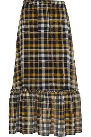 Just Female Brix Maxi Skirt Lång Kjol Multi/mönstrad
