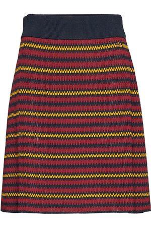 Morris Lady Colette Knit Skirt Knälång Kjol Multi/mönstrad