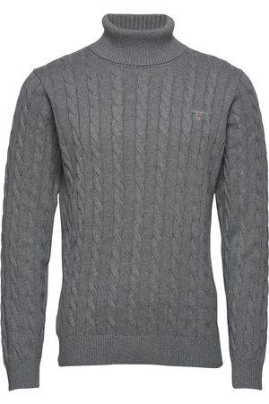 GANT Cotton Cable Turtle Neck Knitwear Turtlenecks