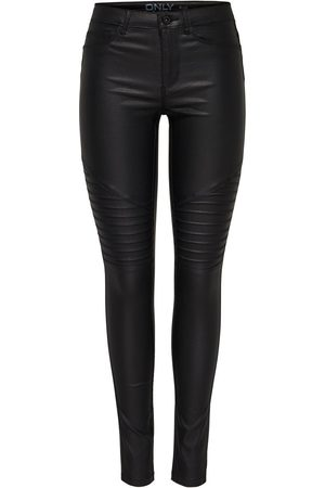 Only Onlnew Royal Belagda Bikerinspirerade Skinny Fit-jeans