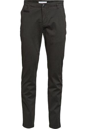 Knowledge Cotton Apparal Chuck Regular Chino Pant - Gots/Veg Chinos Byxor Brun