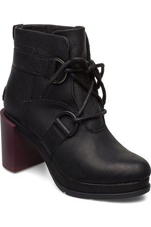 sorel Kvinna Ankelboots - Margo Lace-Up Bootie Shoes Boots Ankle Boots Ankle Boots With Heel