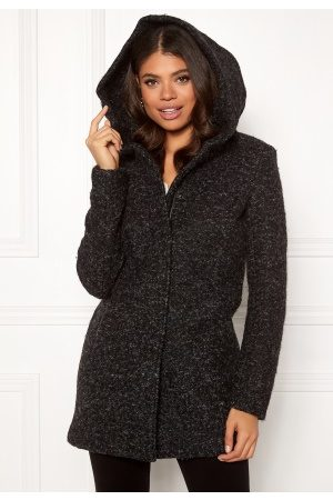 Only Sedona Boucle Wool Coat Black S