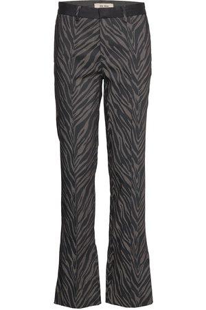 Mos Mosh Callie Zebra Pant Byxa Med Raka Ben