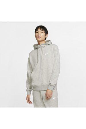 Nike Man Hoodies & Sweatshirts - Huvtröja Sportswear Club med hel dragkedja för män