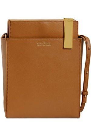 Rokh File Leather Shoulder Bag