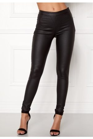 Object Belle Coated Leggings Black 36