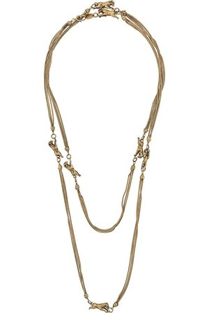 CHANEL 1960s ram charm Goossens necklace