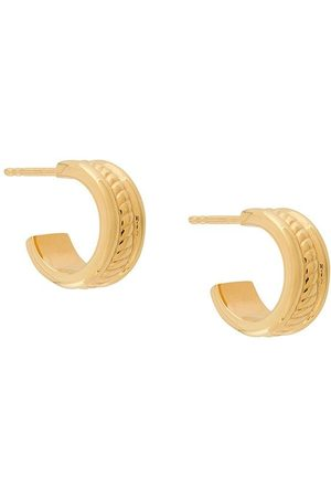 NORTHSKULL Kvinna Örhängen - Rope hoop earrings