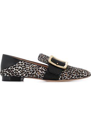 Bally Leopardmönstrade loafers