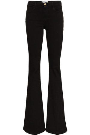 Frame Utsvängda jeans med hög midja