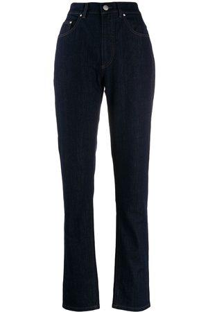 KATHARINE HAMNETT LONDON Avsmalnande jeans med hög midja