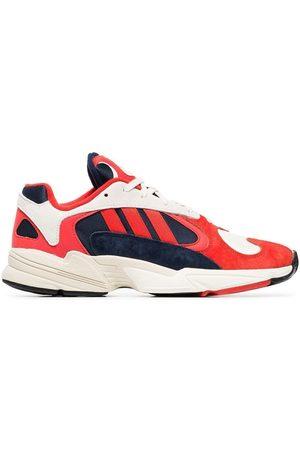 """adidas """"yung 1 sneakers i bomull, mocka och läder"""""""
