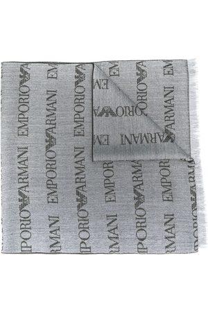 Emporio Armani Halsduk med broderad logotyp