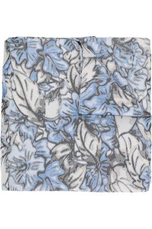 Issey Miyake Blommig sjal från 1990-talet