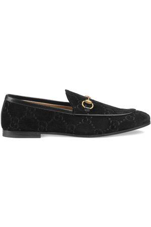 Gucci Jordaan GG sammetsloafers