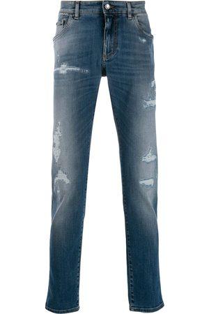 Dolce & Gabbana Smala jeans med slitning